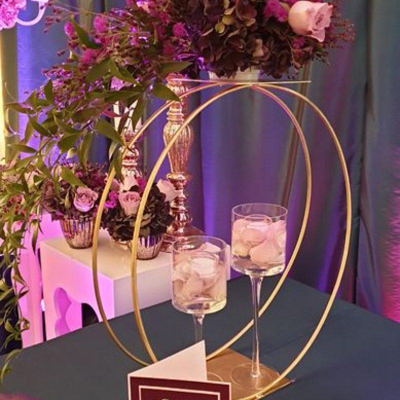 dekofee_lena_Hochzeitsdeko_Blumenkugel_Ring_Gold