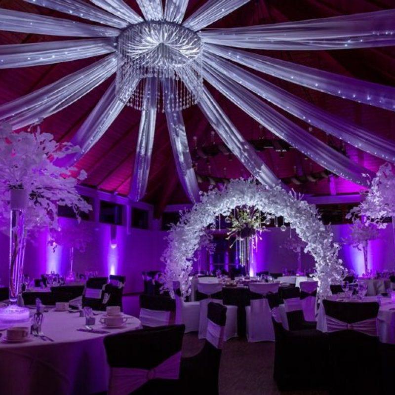 dekofee_lena_Hochzeitsdeko_schwarz_weiss_Baldahin